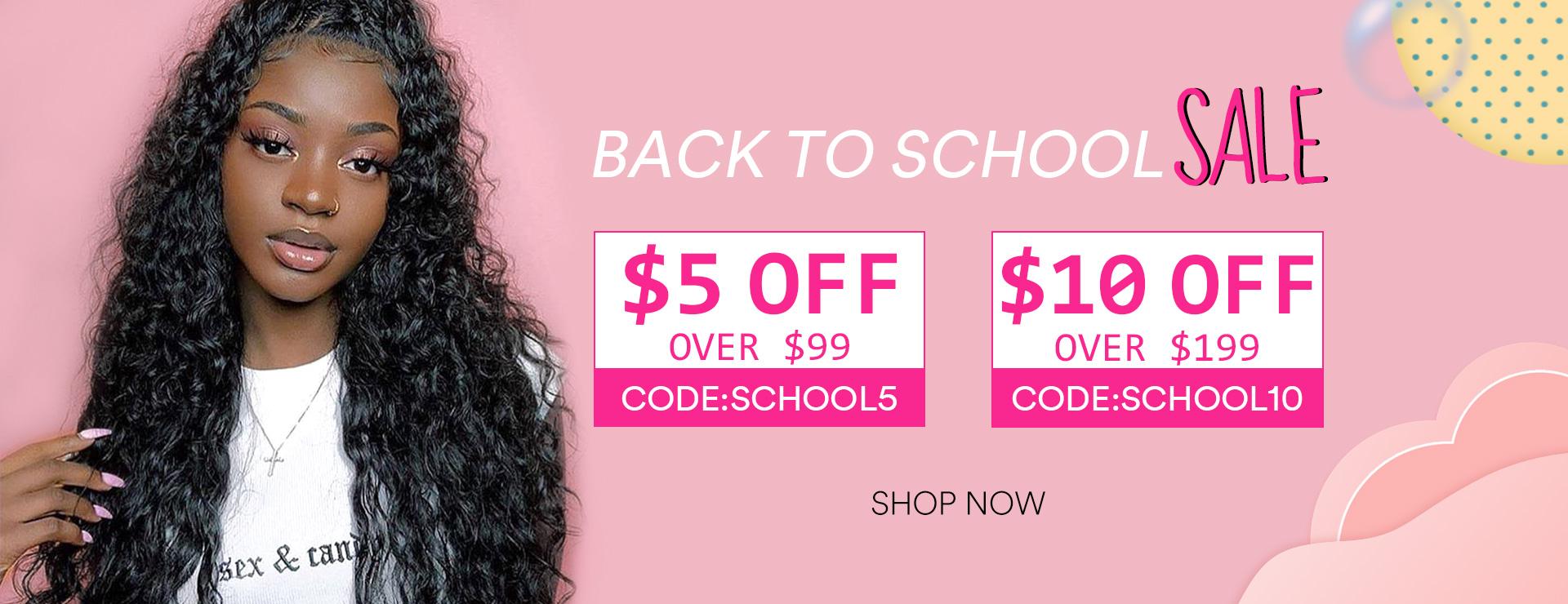 Back 2 School Sale