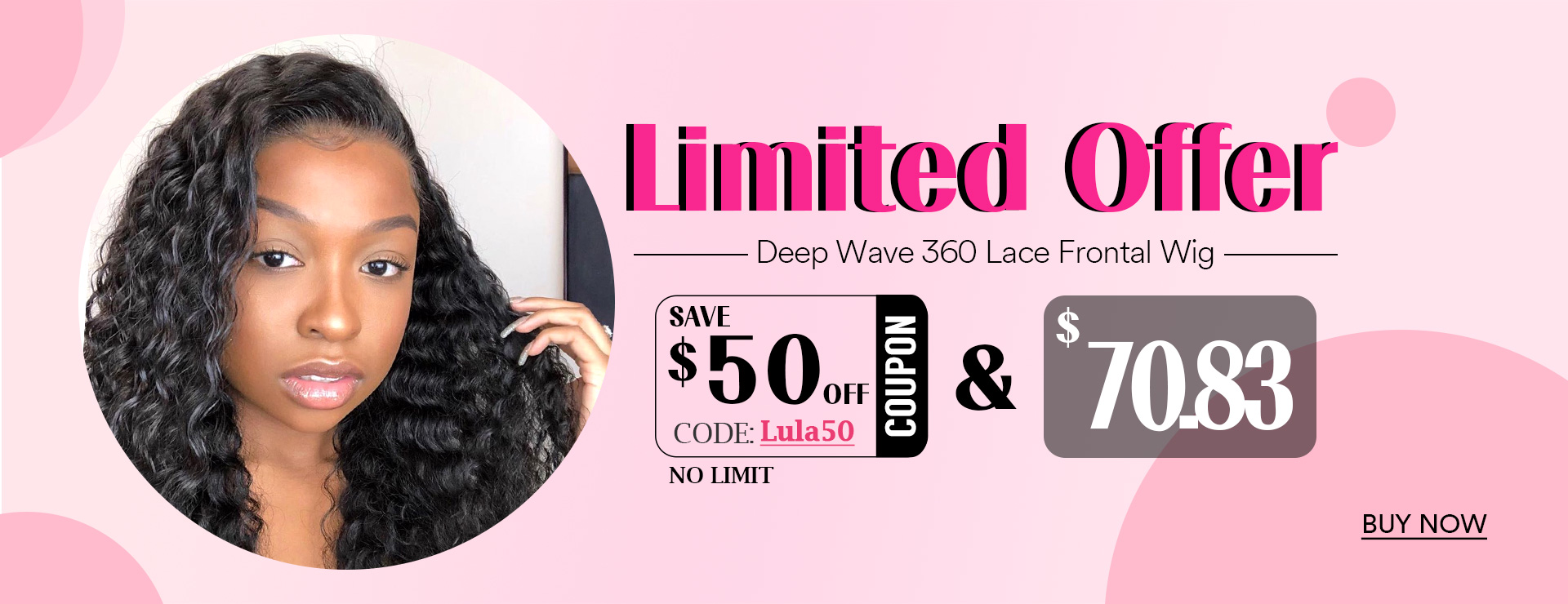 Deep Wave 360 Lace Frontal Wig
