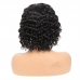 Virgin Human Hair Water Wave BOB T Part Wig