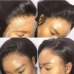Virgin Human Hair Transparent 13x4 13x6 Straight Lace Front Wigs