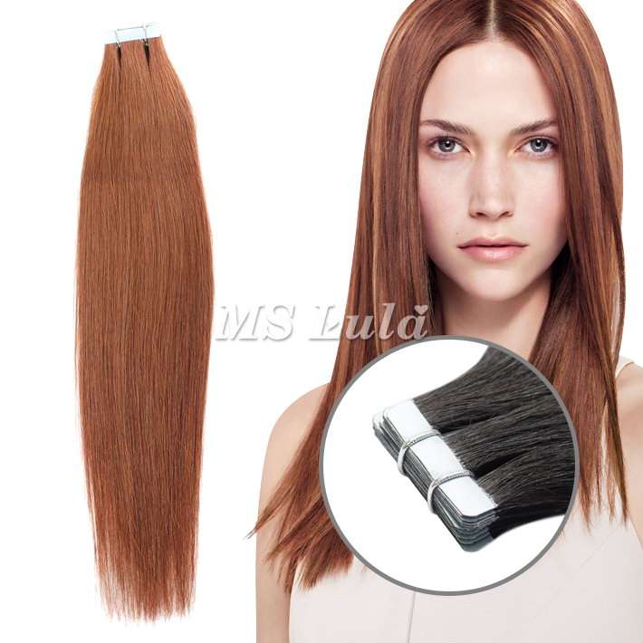 100% Virgin Remy Human Hair PU Hair Extensions