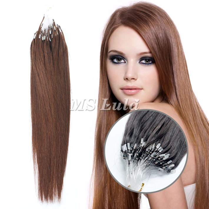 100% Virgin Remy Human Hair Micro Ring Hair Extensions
