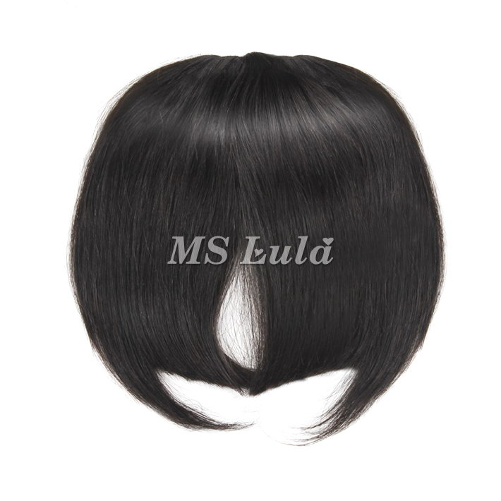 100% Virgin Human Hair Bang With Clip