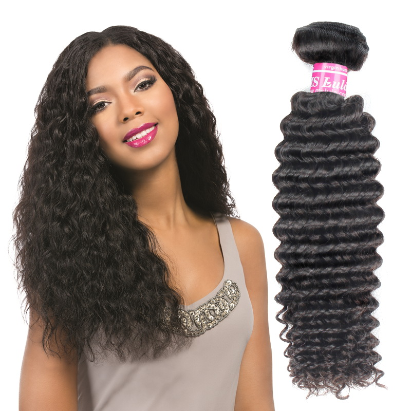 Virgin Hair Weave Jerry Curly