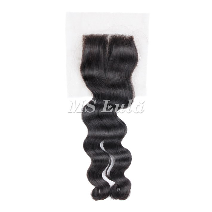 Virgin Hair Loose Weave 4X4 Lace Closure