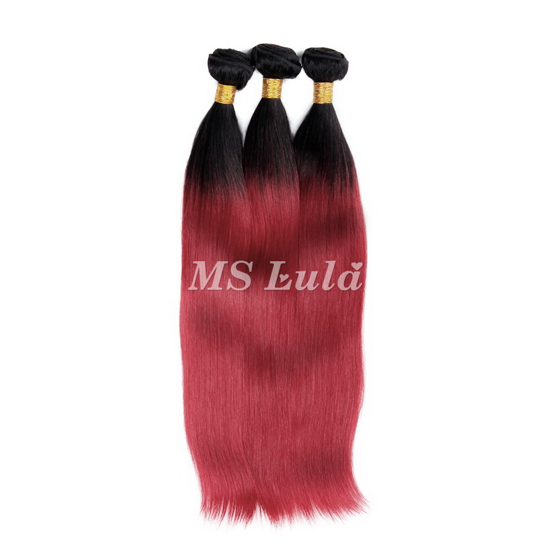 ombre red weave black to fall red beautiful color hair