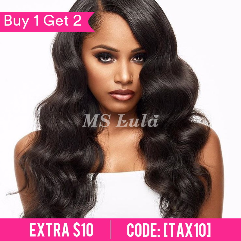 360 Pre-plucked 180 density lace front wig with baby hair all around body wave