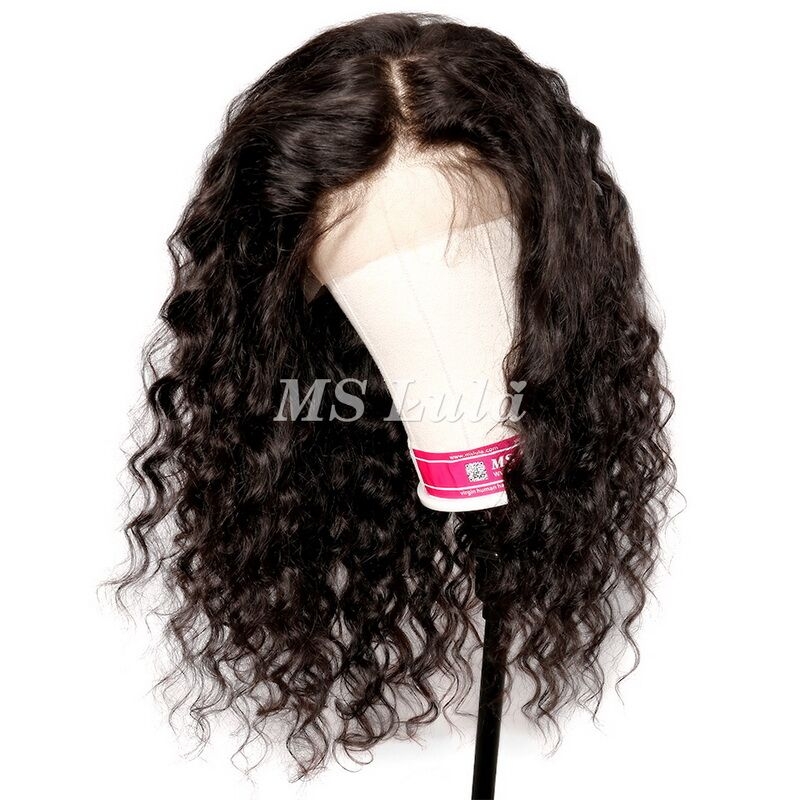 360 Pre-plucked 180 density lace front wig with baby hair all around loose wave