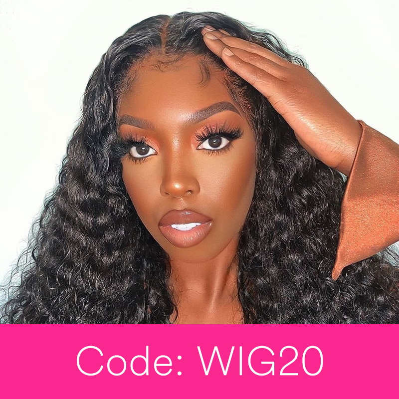 360 Lace Wig With 250 Density Deep Wave