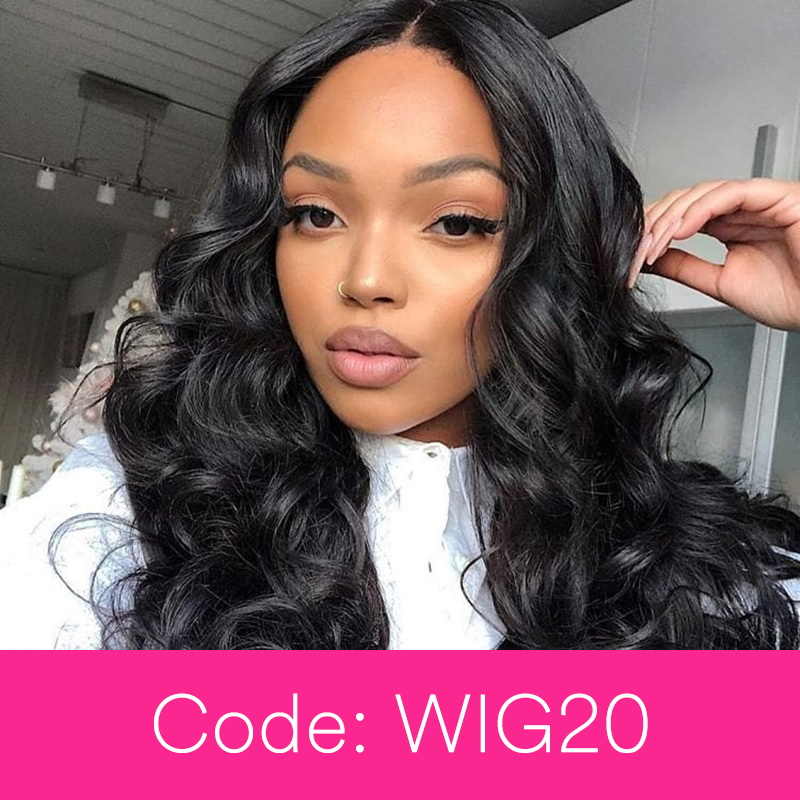 360 Lace Wig With 250 Density Body Wave