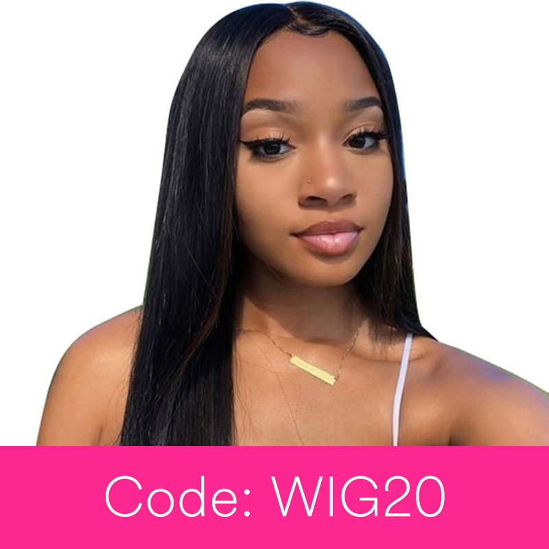 360 Lace Wig With 250 Density Straight