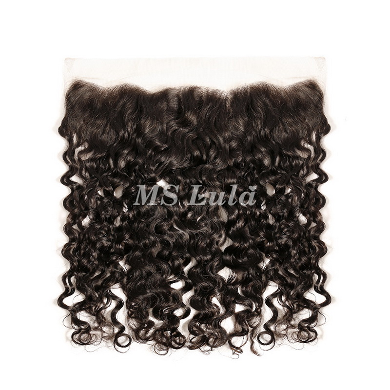 4x13 Virgin Human Hair Italy Roman Curl Lace Frontal