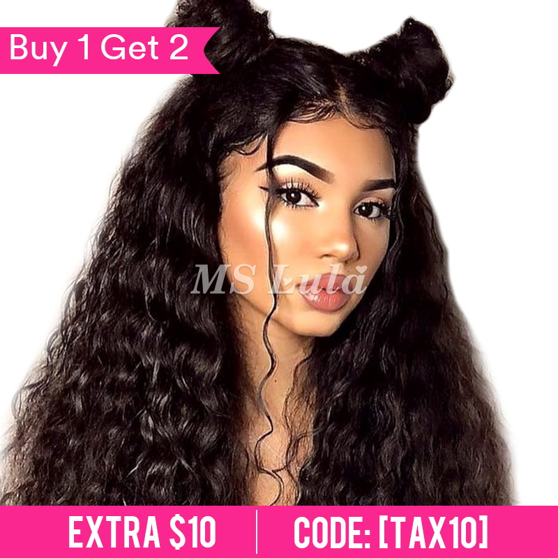 360 Pre-plucked 180 density lace front wig with baby hair all around Nature Wave