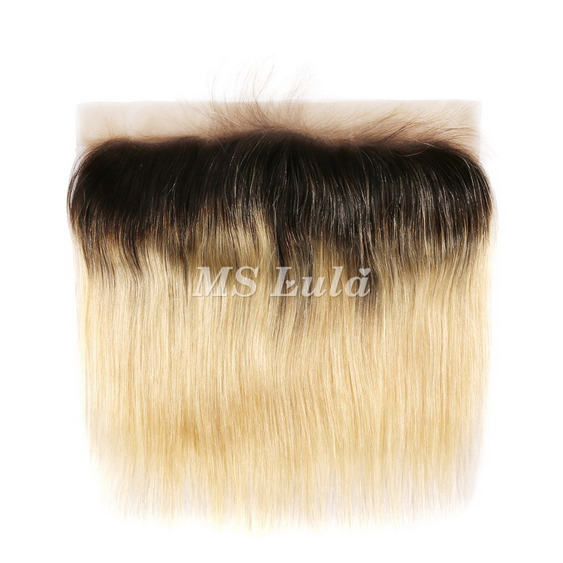 4X13 1b/613# Virgin Hair Straight Lace Frontal
