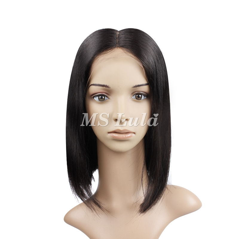 13x6 Bob Lace Frontal Wigs With Straight