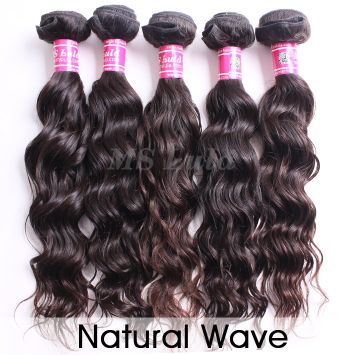 virgin hair bundles natural wave 5pcs