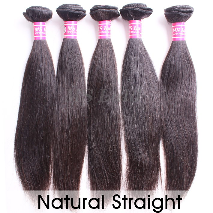 virgin hair bundles natural straight 5pcs