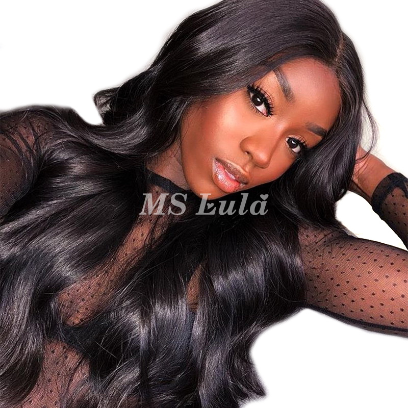 Virgin Human Hair 2x4 Body Wave Lace Front Wigs
